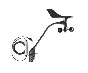 Sensor de dirección y velocidad del viento